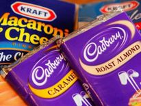 Kraft and Cadbury products