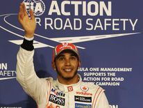 Lewis Hamilton will start from pole in Abu Dhabi