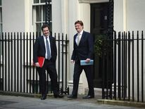 George Osborne and Danny Alexander Downing Street