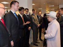 Queen Elizabeth II And The Duke Of Edinburgh Visit The Bank Of England