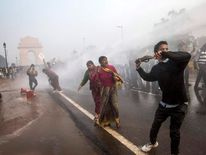 Protests in New Delhi over rape laws