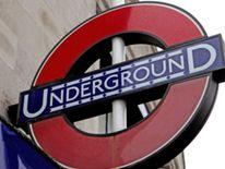 An underground sign