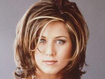 Friends actress Jennifer Aniston pictured in 1996