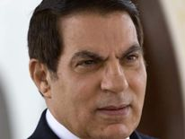Tunisian President Zine El Abidine Ben Ali is seen at Tunis airport.