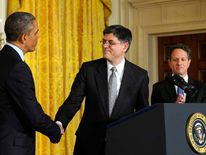 President Obama Announces Jacob Lew As His Pick To Succeed Geithner As Treasury Secretary