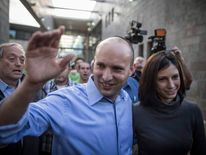 Naftali Bennett Casts His Vote In Israel's General Election