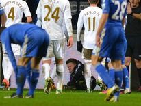 Charlie Morgan, Swansea ballboy