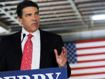 Republican presidential candidate and Texas Governor Rick Perry