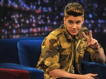 Justin Bieber on Late Night With Jimmy Fallon