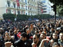 TUNISIA-POLITICS-UNREST-OPPOSITION