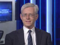 Martin Weale talking to Dermot Murnaghan