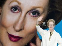 Meryl Streep unveils the poster for The Iron Lady film