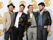 Mumford and Sons at the Grammy Awards