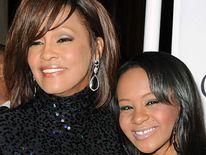 Whitney Houston and her daughter Bobbi Kristina Brown