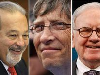 Carlos Slim, Bill Gates and Warren Buffett
