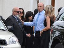 Mourners arrive for the funeral of Reeva Steenkamp