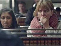 Lung cancer awareness advertisement