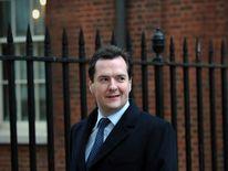 George Osborne in Downing Street