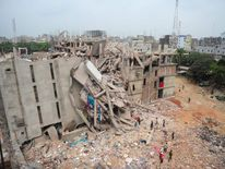 BANGLADESH-BUILDING-DISASTER-TEXTILE