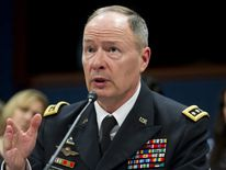 NSA Director General Keith Alexander testifies on Capitol Hill