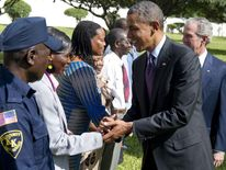 TANZANIA-US-OBAMA-BUSH