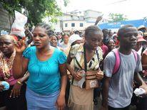 HAITI-POLITICS-DEMONSTATION