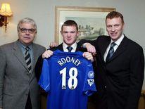 Wayne Rooney of Everton