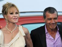 Antonio Banderas and Melanie Griffith at the fourth annual Starlite Charity Gala in Marbella, Spain.