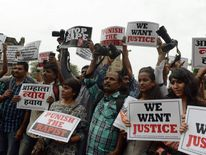 Indian gang-rape protests