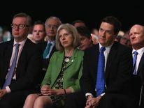 Theresa May and George Osborne.