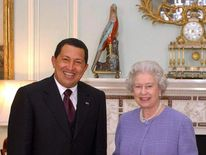 British Queen Elizabeth II and Venezuela