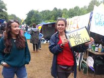 Anti-fracking protests Balcombe