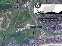 West Sussex Airshow Crash Location