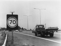 Speed limit of 70mph was introduced in the 1960s