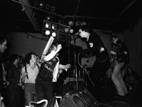 The Damned performing in 1976
