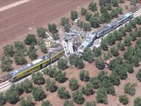 Train crash in Italy