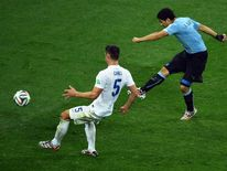 Suarez scores second goal