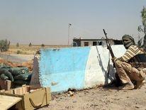 Turkmen Shia fighter in Amerli, Iraq