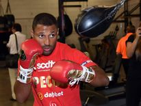 Shawn Porter And Kell Brook Media Workout