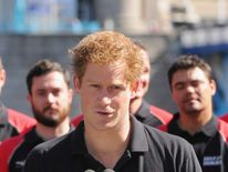 Prince Harry speaks at the announcement of the British team for the Invictus Games