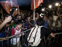 Activists Take To The Streets As China Votes On Hong Kong Election Process