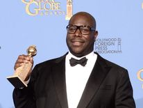 Director Steve McQueen With Award
