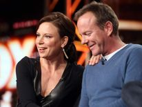 Kiefer Sutherland And Mary Lynn Rajskub