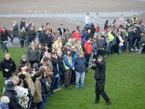 Volunteers comb land in Edinburgh for clues as to what happened to Mikaeel Kular.