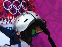 Sarka Pancochova helmet