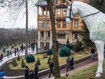 Viktor Yanukovych's presidential compound.