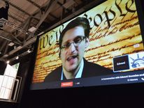 A Virtual Conversation With Edward Snowden - 2014 SXSW Music, Film + Interactive Festival