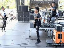 Unlocking the Truth performs at 2014 Coachella Valley Music and Arts Festival