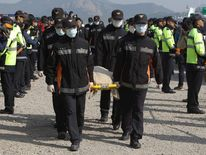 Rescue Work Continues At South Korean Ferry Disaster Site