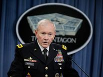 Martin Dempsey Hosts China's Army Chief Of General Staff At The Pentagon